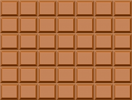 Seamless texture with chocolate bar background. chocolate wallpaper photo