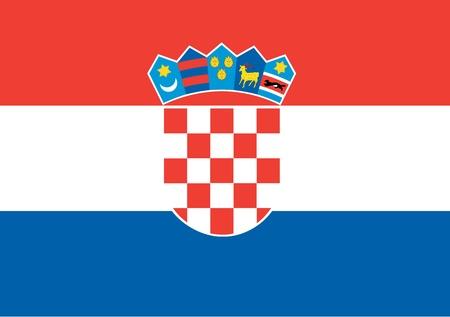 bandera de croacia: bandera nacional de croacia. mundo croacia papel tapiz de fondo