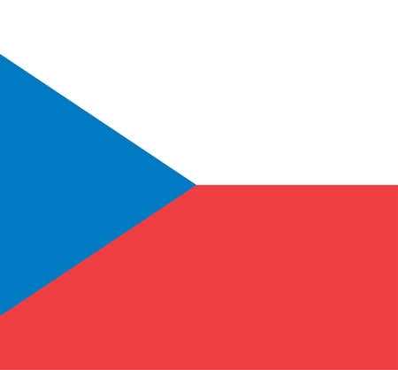 national flag of czech republic country. world czech republic background wallpaper photo