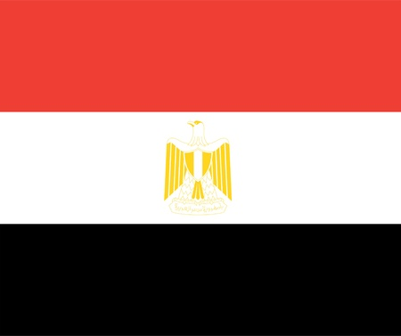 national flag of egypt country. world egypt background wallpaper Stock Photo