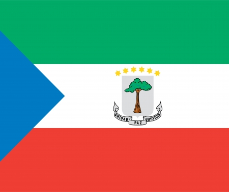 national flag of equatorial guinea country. world equatorial guinea background wallpaper photo