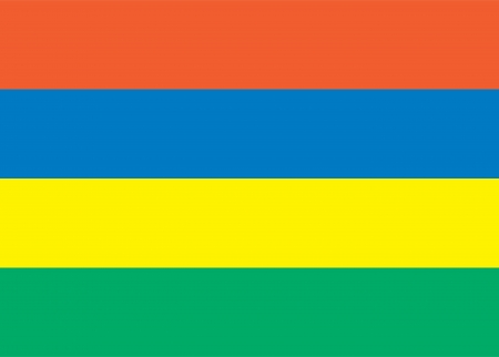 mauritius: national flag of Mauritius country  world Mauritius background wallpaper