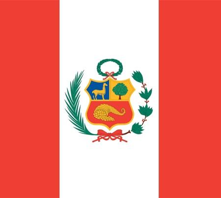 national flag of peru country  world peru background wallpaper