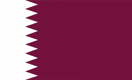 national flag of qatar country  world qatar background wallpaper photo