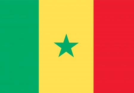 piktogramm: national flag of senegal country. world senegal background wallpaper