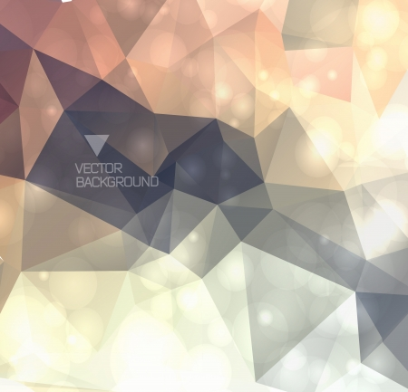 Abstract modern background with polygons.