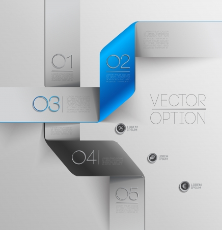 Design elements  for options Stock Vector - 23709095