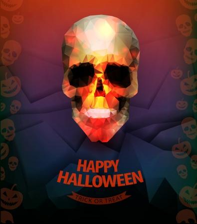 grave stone: Halloween background  Illustration