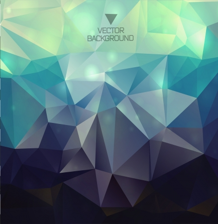 Abstract  polygonal background triangles background Vector