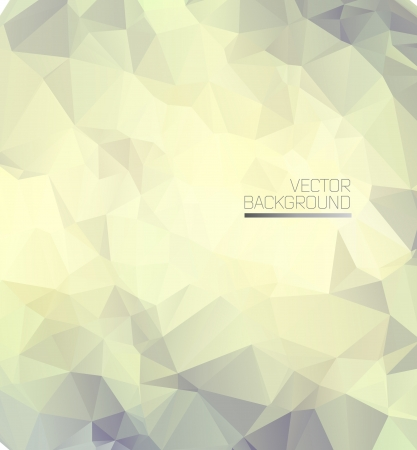 Abstract white minimal modern background with polygons. Vector