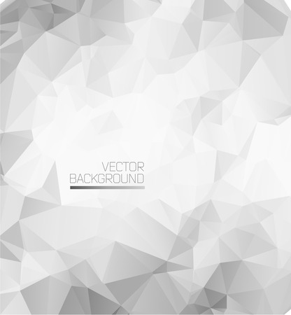minimal: Abstract modern background with polygons.