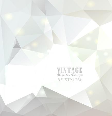 Zusammenfassung weißen Hintergrund bunte polygonale Standard-Bild - 23762436