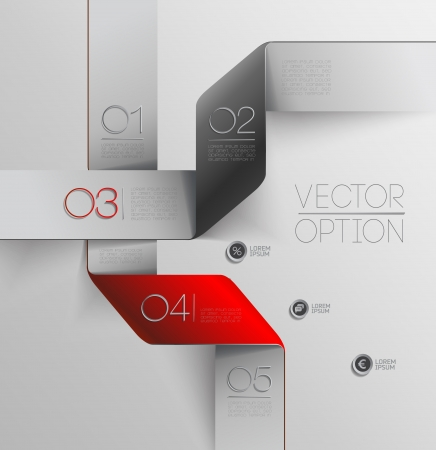 Design elements  for options Stock Vector - 23754131