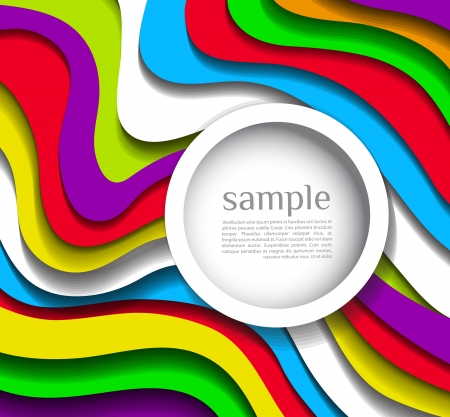 rainbow background: Abstract modern colorful  background
