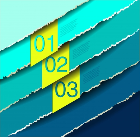 abstract number line background. Modern, clean, design template, can be used for info-graphics, numbered banners, graphic or website layout vector Vector