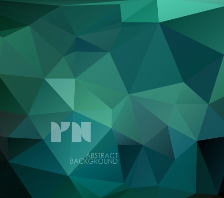 Abstract geometrical background, polygonal design. Vector