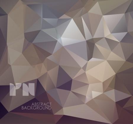 多角形の設計の抽象的な幾何学的な背景