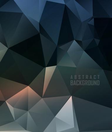 Conception polygonale / Fond géométrique abstrait Banque d'images - 24331408