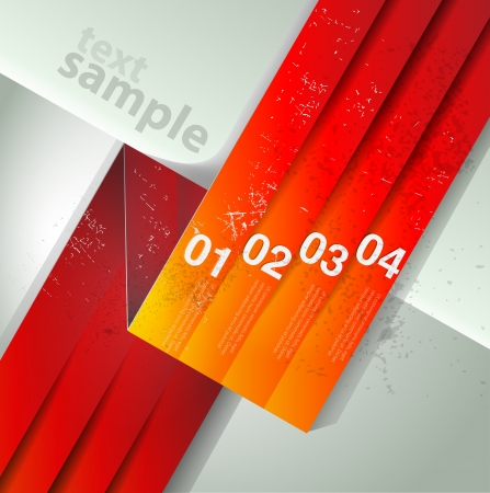 abstract number line background. Modern, clean, design template, can be used for info-graphics, numbered banners photo