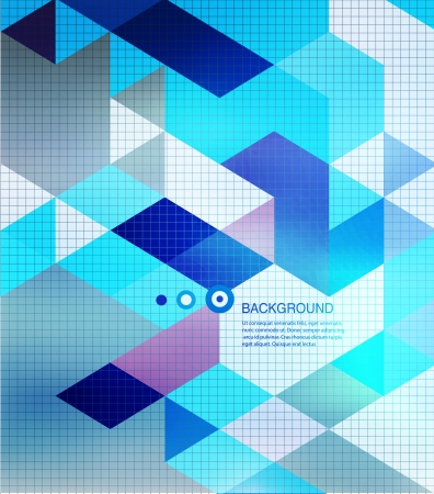 Abstract mosaic background. Blur background Vector