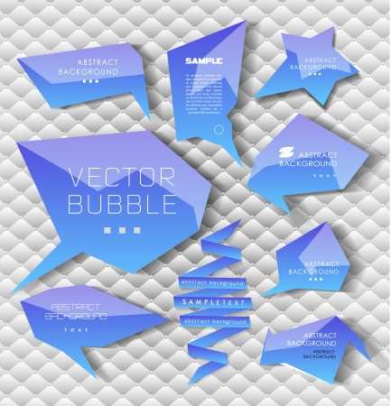 web design banner: Modern business bubble option, speech template. Vector illustration. can be used for diagram, number options, web design, banner template, info graphic.