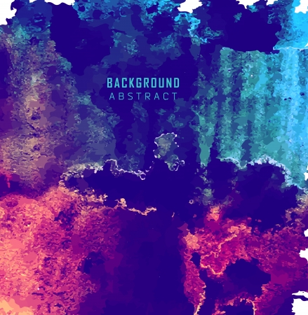 abstract watercolor background Ilustracja