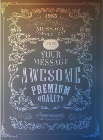 Qualité Premium, la conception de garantie de la typographie. Banque d'images - 25401902