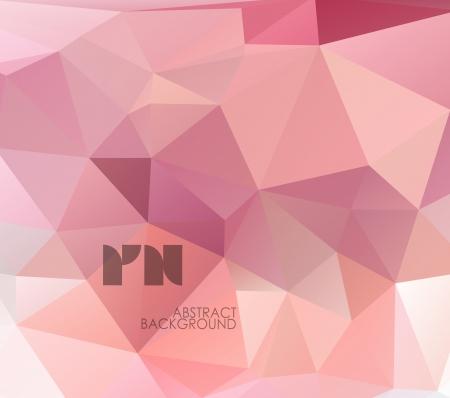 Abstract geometrical, polygonal design.
