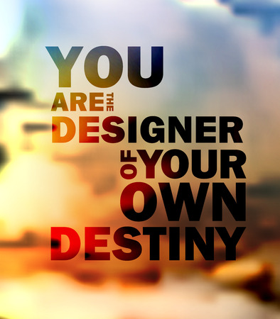 quote: Quote Typographical landscape Background, vector design.