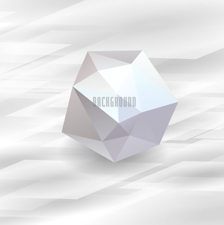 glas: Abstract background with glas bubble. Vector illustration Illustration