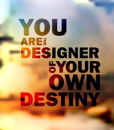 Quote Typographical landscape design.