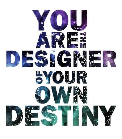 Citeer Typografische melkweg achtergrond, vector ontwerp.