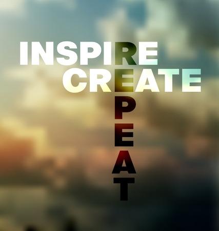 Quote Typografische landschap achtergrond, kan vector ontwerp worden gebruikt voor de uitnodiging, felicitatie of website