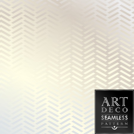 Art Deco seamless vintage wallpaper pattern can be used for invitation, congratulation Ilustração