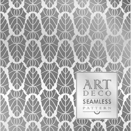 Art Deco seamless vintage wallpaper pattern can be used for invitation, congratulation Vector