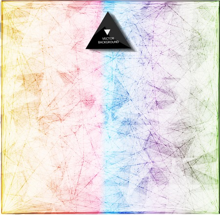 Bacground: Abstract web bacground. Triangles background. Geometrical lines