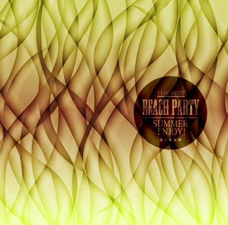 bacground: Abstract  bacground. Waves background. Geometrical lines illustration Illustration