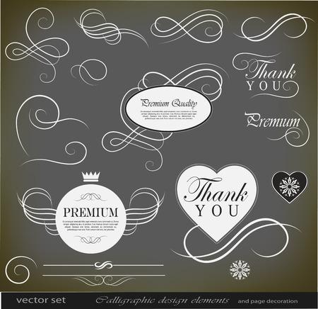 calligraphic design: calligraphic design elements calligraphic design elements calligraphic design elements