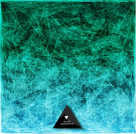 Abstract web bacground. Triangles background. Geometrical lines