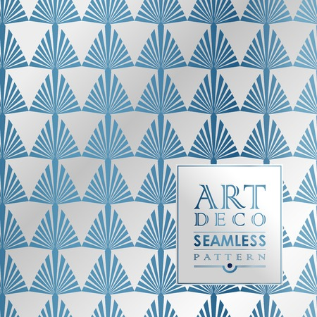 art contemporary: Art Deco vintage wallpaper pattern