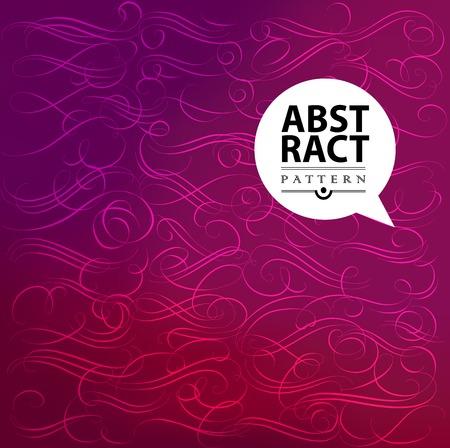 calligraphic design: Set of decorative calligraphic design elements Illustration
