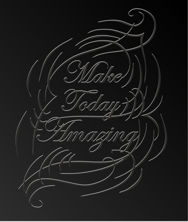 encouraging: Inspirational and encouraging quote calligraphic design. Calligraphy, typography background