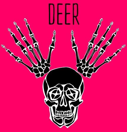humerus: Skull poster