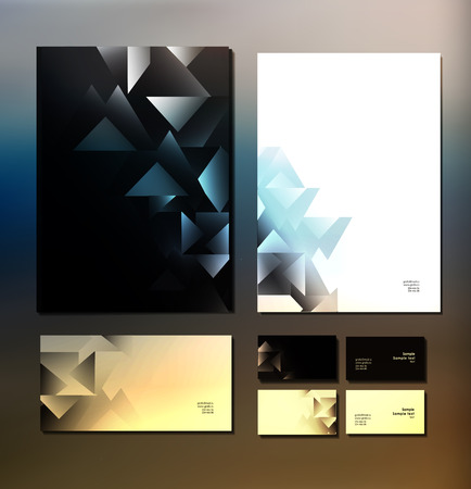 corporate: Abstract  business set. Corporate identity templates Abstract  business set. Corporate identity templates