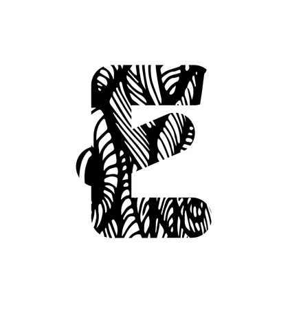 vector banners or headers: Vector alphabet. Sketchy creative letters collection hand drawn with ink pen for lettering posters, ads, headers, banners and more