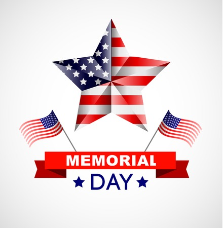 national women of color day: Memorial day poster. Illustration Patriotic United States of America for Memorial day, USA, Memorial day vector illustration