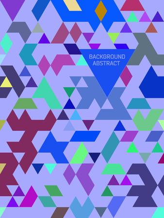 Absract Dreieck Hintergrund. Nahtlose Muster mit Dreiecke