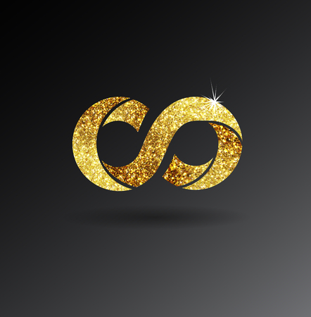 gold glittering stars