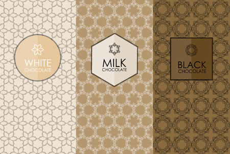 Vector set of templates packaging, label, banner, poster, identity, branding