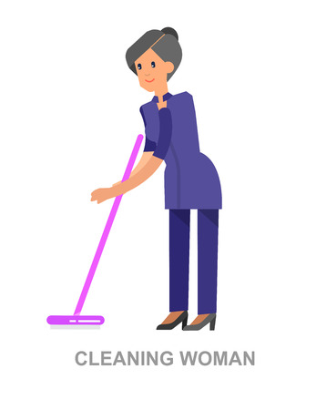 dusting: Poster design for cleaning service and cleaning supplies. Vector detailed character professional housekeeper. Cleaning kit icons. Vector cleaning. Illustration cleaning